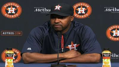 Astros shake up coaching staff