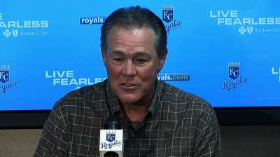 Royals stay course, ink Yost to two-year extension