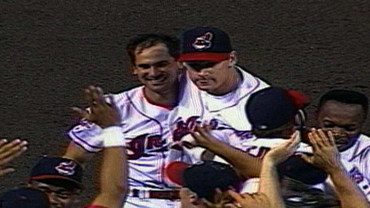 Indians advance to '97 ALCS