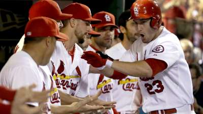 Mujica to stay in 'pen as Matheny hints at roster
