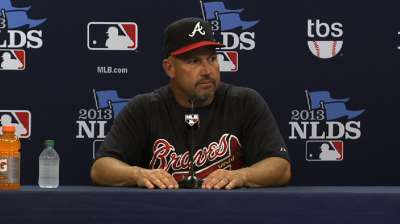 After late skid, Uggla off Braves' NLDS roster
