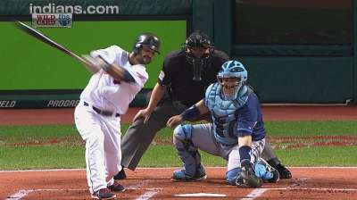 Umpires reverse third-strike call in first inning
