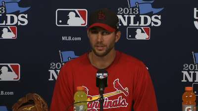 Wainwright ready for challenge posed by Pirates