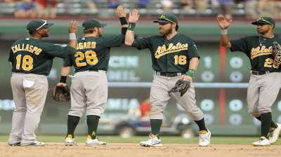 A's believe they're more complete than in '12