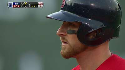 Middlebrooks again starts at third base over Bogaerts