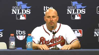 Oct. 4 Fredi Gonzalez postgame interview