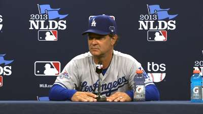 Going by the book sinks Mattingly, Dodgers