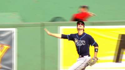 Red Sox take advantage of Rays' fourth-inning miscues