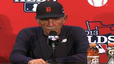 Oct. 4 Jim Leyland postgame interview
