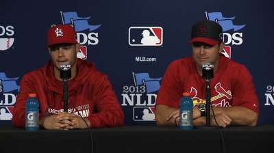 Kelly takes Cards' confidence into Game 3 start
