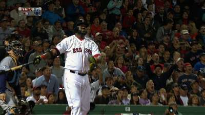 Twice as nice: Papi adds to postseason homer total
