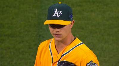 A's choose Gray over Colon for Game 5