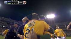 Vogt of confidence: Walk-off A's even ALDS