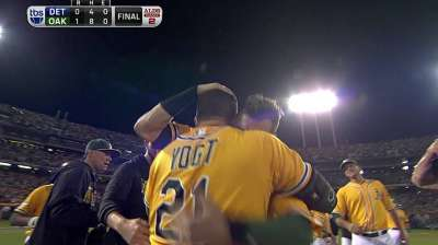 Elated Vogt an unlikely hero in Game 2