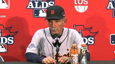 Jim Leyland Oct. 5 postgame interview