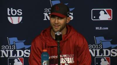 Rookie Wacha ready for road challenge in Game 4