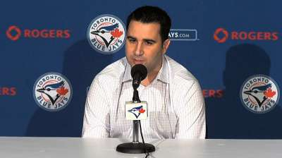 Anthopoulos likely to fill club's needs via trade