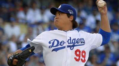 Ryu to start Game 3 of NLCS, Nolasco to follow