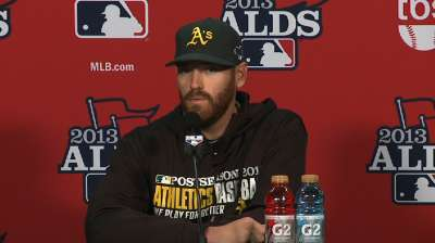 Straily confident as Oakland aims to clinch ALDS