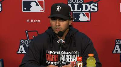 Shaky Anibal an unusual sight for Tigers