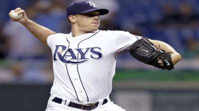 Hellickson happy to have Rays' fate in his hands