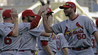 Cards ready to follow Wainwright to NLCS in Game 5