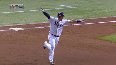 Lobaton's walk-off blast an historic one for Rays