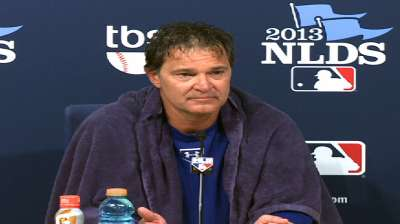 Oct. 7 Don Mattingly postgame interview