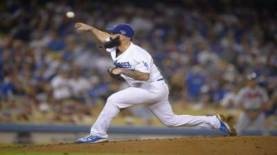 Back end of 'pen clamps down for Dodgers
