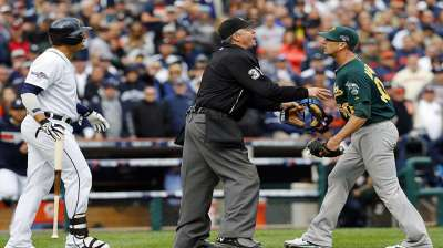 A's put Balfour incident behind them