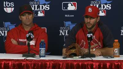 Matheny has nine relievers at disposal for Game 5