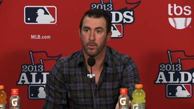 Verlander: Game 5 start 'not just another game'