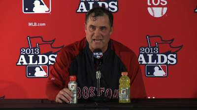 Farrell stays course with ALCS roster