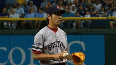 With Uehara, never a doubt he'd pick himself up
