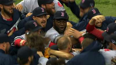 Many straws stir the drink for ALCS-bound Red Sox