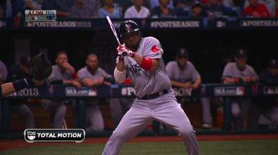 No Shane, no gain: Victorino leaning man of ALCS