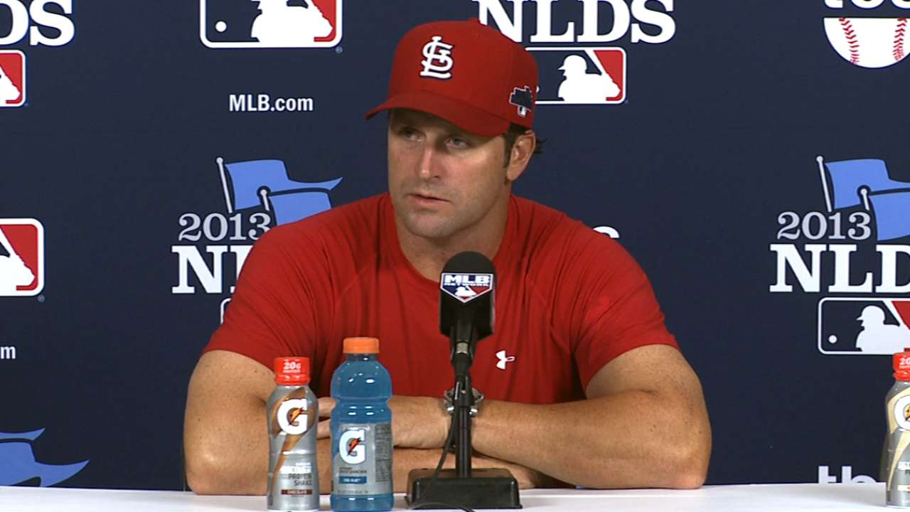 Oct. 9 Mike Matheny postgame interview