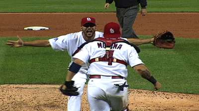 Cards' celebration familiar, but no less sweet