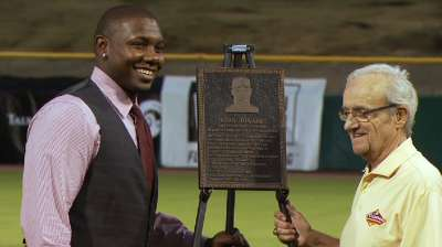 Howard inducted into Arizona Fall League Hall of Fame