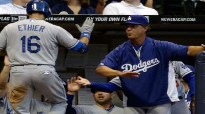 Ethier a 'possibility' to join Hanley in starting lineup
