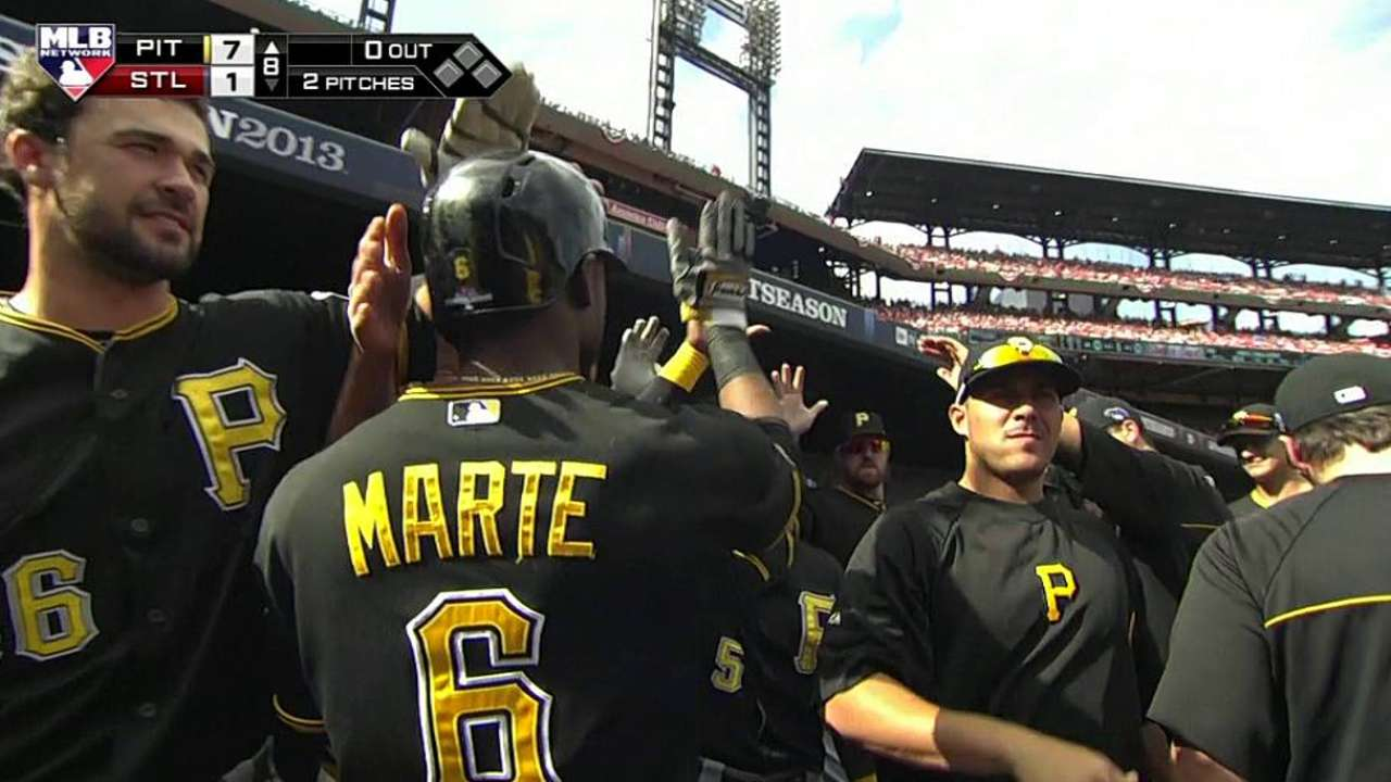 Hurdle: Marte can't continue to be 'pinata' for pitchers