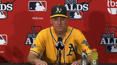 A's savor West title but seek greater heights
