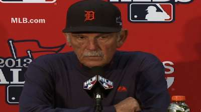 Oct. 10 Jim Leyland postgame interview