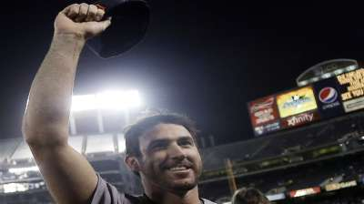 Verlander makes Coliseum his home away from home