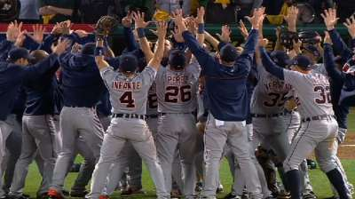 Tigers 'Turn Up' the volume to celebrate clinch