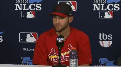 Pressure? Rookie Wacha won't be rattled by NLCS