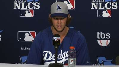 Kershaw to be formidable Game 2 challenge for Cards