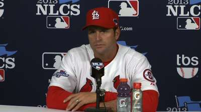 Oct. 11 Mike Matheny postgame interview