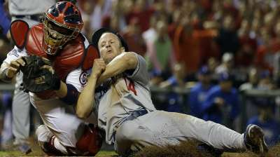 Dodgers squander chances, drop Game 1 in 13th