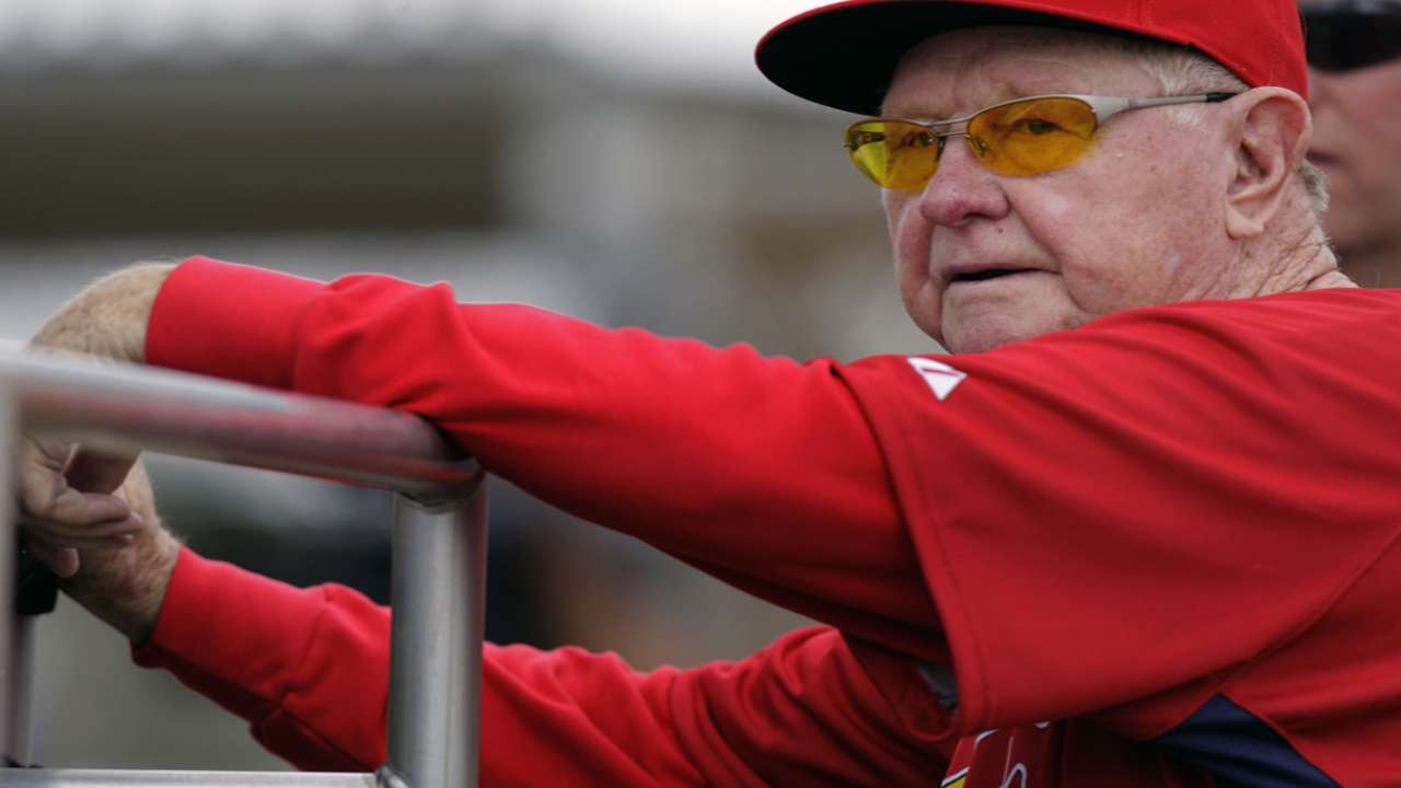 Matheny on Red Schoendienst